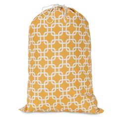 Printed Laundry Bag-Yellow Links