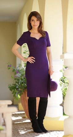 Noemie Dress | Lavender - AMCO fashion | Business Mode |
