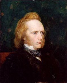 George Douglas Campbell, 8th Duke of Argyll, ca. 1860 (George Frederic Watts) (1817-1904) National Portrait Gallery, London NPG 1263