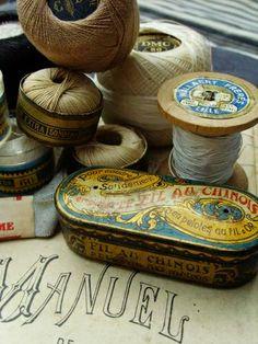 Vintage sewing treasures