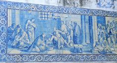 Azulejos - Jardim das Amoreiras