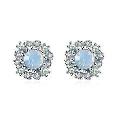 Pair of Retro Style Faux Opal Rhinestone Beads Earrings For Women #jewelry, #women, #men, #hats, #watches