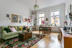 Vintage livingroom by Vintagefabriken Studio