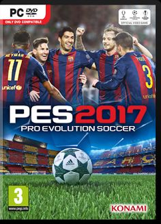 PES 2017 Cover