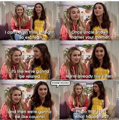 "#GirlMeetsWorld ""Girl Meets I Do"" (that seems less, what happened..lol)"