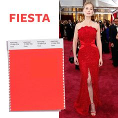 See the Top 10 Colors for Spring 2016 - Fiesta  - from InStyle.com