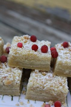 Bake Believe - Vaniljrutor Fika, Cookie Bars, Biscotti, Baked Goods, Goodies, Sweets, Tart, Snacks, Desserts