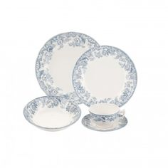 Spode Delamere Lakeside 5-piece Place Setting