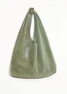 amp  Other Stories   Suede Hobo Bag Leather Handbags, Fall Handbags,  Burberry Handbags 914b4329e5