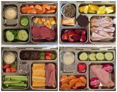 Amazing ideas for lunches from Whatever in the Rover from PlanetBox. Check this…
