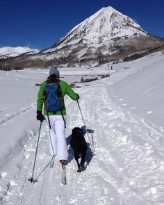 Bring the kids to #Gunnison #CrestedButte this season! Kids 17 and under #ski #free (nordic ski gear and snowshoes are free too) at the Crested Butte Nordic Center www.cbnordic.org. #familytravel #familyvacations