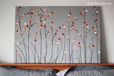 cute diy canvas art | DIY | Pinterest