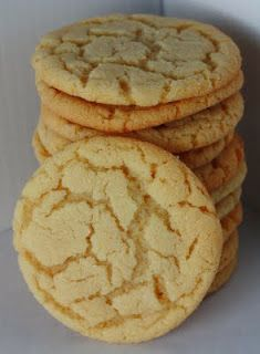 Chewy Sugar Cookies-I would make these again!