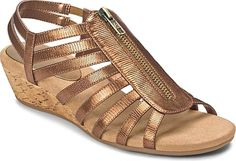 A2 by Aerosoles Shoes - A2 by Aerosoles Yetaway Women's Shoes in Bronze Snake color. - #a2byaerosolesshoes #snakeshoes