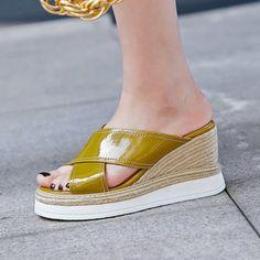 61d89563 Chiko Nubia Espadrille Platform Wedge Sandal Slides feature open toe, cross  strap upper, espadrille