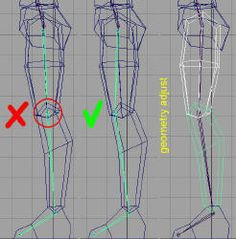 """Creating and customizing the """"skeletons"""" of characters in MaYa - Maya Lessons Character Rigging, 3d Model Character, Character Modeling, Maya Modeling, Modeling Tips, Animation Tutorial, 3d Animation, Low Poly, Blender 3d"""