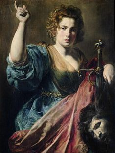 Valentin de Boulogne (1591 – 19 August 1632), Judith and the head of Holofernes.