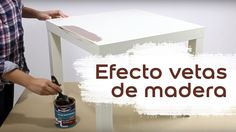 Cómo pintar con efecto vetas en madera Dyi, Furniture, Youtube, Home Decor, Home, Paint Effects, Wooden Shapes, How To Paint, Nativity Scenes
