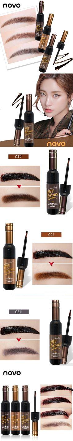2017 Fashion Peel Off Dye Eyebrow Gel Long-lasting Sombrancelha Enhancer Wax Paint Tint My Eye Brows Gel Beauty Makeup Cosmetics
