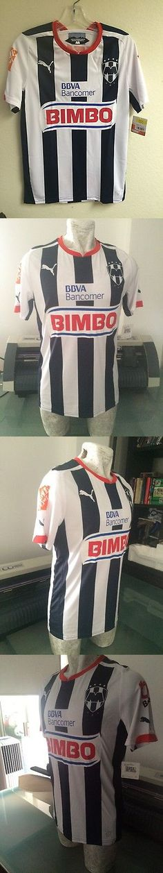 Other Soccer Clothing and Accs 159179: Jersey Rayados De Monterrey, Local Temporada 2014-2015 BUY IT NOW ONLY: $39.99
