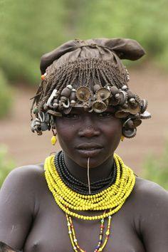 Africa   Young Daasanch woman. Omo Valley, Ethiopia   ©Gilad Flesch