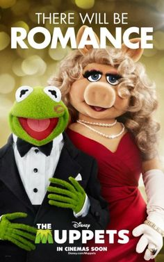 There will be romance..... With miss piggy and Kermit!!!