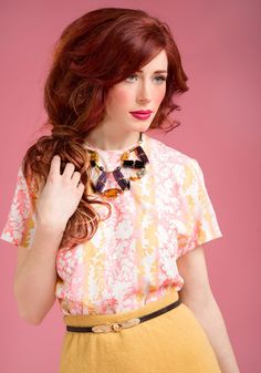 Vintage Everything in Arbor Top, #ModCloth
