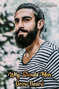 Why Should Men Grow Beard? 4 Unavoidable Reasons – Men's Hairstyles and Beard Models Beard Trimming Guide, Beard Model, Long Beards, Beard Care, Hair Styles, Men's Hairstyles, Bread, Smile, Models