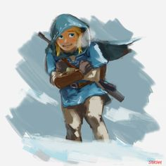 He's so cute when he's cold! This Link, I'm excited to see this Link