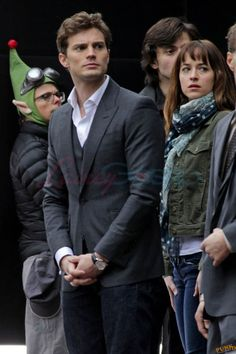 Jamie Dornan is really hot on the set of Fifty Shades Of Grey|Lainey Gossip Entertainment Update
