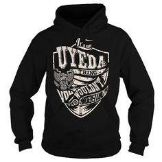 Awesome Tee Its an UYEDA Thing (Eagle) - Last Name, Surname T-Shirt T shirts