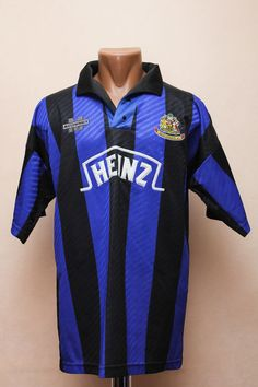 WIGAN ATHLETIC 1993 1994 HOME FOOTBALL SHIRT JERSEY FOOTBALL ENGLAND  MATCHWINNER Wigan Athletic ea696d559