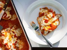 Chicken Parmesan ~ grated parmesan in the breading makes a comfort food classic even better.