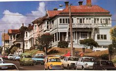 Glenn Rowell, Grafton Rd Auckland, 70s/ 80s Nz History, My Family History, Old Images, Auckland, What Is Like, Historical Photos, New Zealand, The Neighbourhood, Nostalgia