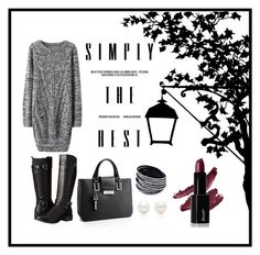 """Simply."" by nenmic on Polyvore featuring moda, Eürosoft, Calvin Klein e Tiffany & Co."