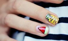 Really quirky nails I love these