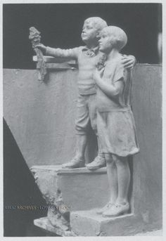 detail of orphans,