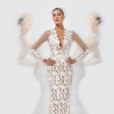 Ora lace dress by Georges Mak Couture