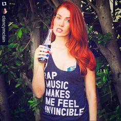 #Repost @clancymclain  Hangin' in Santa Monica today and I needed to show y'all this awesome shirt. #printliberation #redhead #theworldneedsredheads #incredible_redheads #sugarmakesmecra #invincible #ginger #redheads_girls #santamonica #imcrazy #notmypepsi #pltee #drakebelike #nikkiminaj #redhot by printliberation