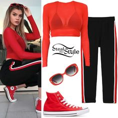 Steal Her Style | Celebrity Fashion Identified Allisa Violet, Fashion Angels, Witch Outfit, Teenage Girl Outfits, Jojo Siwa, Converse Chuck Taylor All Star, 1950s Fashion, Retro, Her Style
