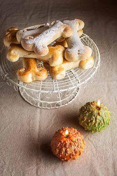 Huesos de pan para Halloween,con productos #ecológicos de @EspaiEco #comerçbarberenc @comercbdv