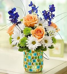 Add to Your Labor Day Celebrations with Sunny Flower Arrangements ...