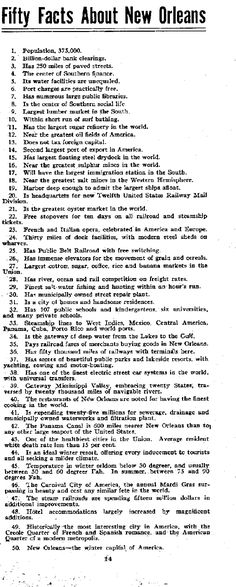 GUIDE BOOK  Of  NEW ORLEANS.  Week of  SUNDAY, MAY 4, 1917    THE LOUISIANA STATE HOTEL CLERKS ASSOCIATION