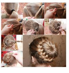 Are you looking for anew hairstyle? We have an awesometutorialfor you-DIY braid around a ponytail. It looks very stylish and it is so easy to create it.First step is to make a ponytail while leaving a triangular section of hair at front. Then start making abraidby taking tresses from the front hair and the ponytail and finish a curve. When the curve of the braid is finished keep on making the braid till the end of the hair left untied. Finally wrap and join this braid with the open end…