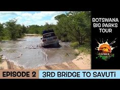 A My Life in Africa 14 day very wet tour of Botswana, in this episode we travel through the Moremi Reserve in the Okavango Delta and to Savuti Camp. Okavango Delta, Us Travel, Parks, My Life, Bridge, Africa, Tours, Youtube, Bro