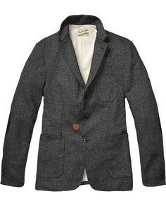 2d74b9123c6 Japanese Styled Blazer   Mens Clothing   Blazers at Scotch   Soda