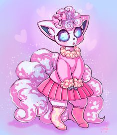 I love Alolan Vulpix soooo much Cute Pokemon Pictures, Pokemon Images, Pokemon Moon, Pokemon Fan Art, Cool Pokemon Cards, Pokemon Stuff, Alolan Vulpix, Cute Art Styles, Cute Kawaii Drawings