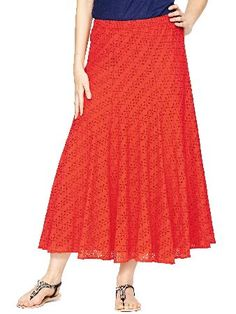 Savoir All Over Broderie Maxi Skirt This maxi skirt by Savoir gives you plenty of coverage this season Featuring all-over broderie detailing this skirt has floral cut-outs that add a touch of feminine flair to your looks The fit and fla http://www.comparestoreprices.co.uk/skirts/savoir-all-over-broderie-maxi-skirt.asp