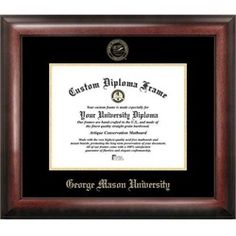 NCAA Pittsburgh Panthers Unisex University of Pittsburgh 11 x 8.5 Inches Gold Embossed Diploma Frame with 5 x 7 Inches Portrait Gold Embossed Diploma Frame with 5 x 7 Inches Portrait Brown One Size