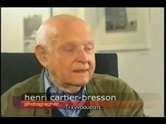 Conversation with Henri Cartier-Bresson